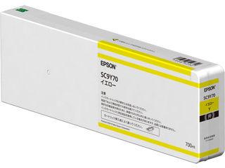 EPSON/エプソン SureColor用 インクカートリッジ/700ml(イエロー) SC9Y70