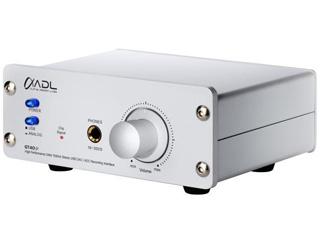 ADL/アルファデザインラボ GT40α(Alpha) フォノイコ搭載(MM / MC対応)USB DAC