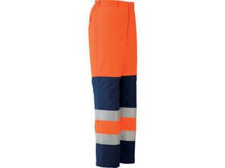 MIDORI ANZEN/ミドリ安全 高視認性 防水帯電防止防寒スラックス オレンジ LLサイズ SE1125-SITA-LL