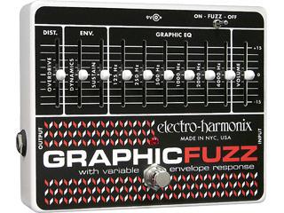 【nightsale】 electro harmonix/エレクトロハーモニクス phic Fuzz ファズ 6バンド グラフィックイコライザー搭載 エフェクター 【国内正規品】