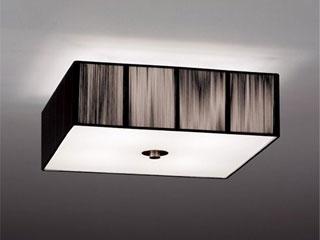 ENDO/遠藤照明 ERG5259B LEDシーリングライト 糸(黒)【電球色】ランプ付