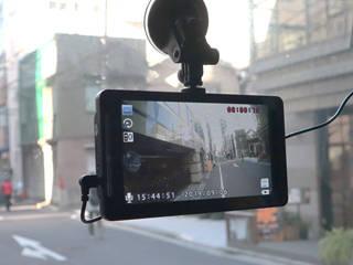 THANKO サンコー 15mロングケーブル付き!トラック・トレーラー・バス用リアカメラ付きドライブレコーダー SDRFTWRC