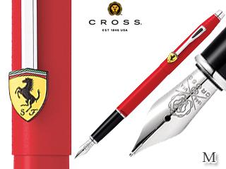 CROSS/クロス 万年筆■クラシックセンチュリー for スクーデリア・フェラーリ【マットロッソコルサ/M】ステンレスペン先