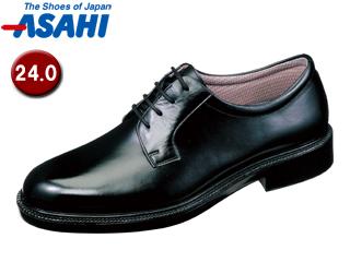 ASAHI/アサヒシューズ AM31231 TK31-23 通勤快足 メンズ・ビジネスシューズ 【24.0cm・4E】 (ブラック)