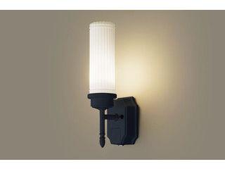 Panasonic/パナソニック LGWC85204BK LEDポーチライト オフブラック【電球色】【明るさセンサ付】【壁直付型】