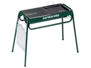 CAPTAIN STAG/キャプテンスタッグ M6488 スライド グリルフレーム 650 (グリー)