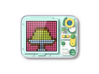 Divoom Divoom PIXEL FACTORY タッチパネル式 ドット絵お絵かきボード グリーン/パープル