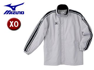 mizuno/ミズノ A60JF961-04 中綿ウォーマーキルトシャツ フード収納式 【XO】 (シルバー)