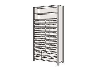 SAKAE/サカエ 【代引不可】物品棚LEK型樹脂ボックス LEK2113-54T