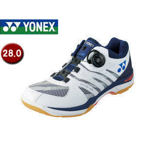 YONEX/ヨネックス SHBCFWD-19 バドミントンシューズ パワークッションコンフォートワイド D 【28.0】 (ネイビーブルー)