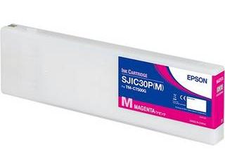 EPSON/エプソン TM-C7500G用インクカートリッジ マゼンダ SJIC30PM