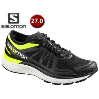 SALOMON/サロモン L40017200 SONIC RA MAX ロードランニングシューズ メンズ 【27.0cm】(Safety Yellow/Black/Blue Bird)