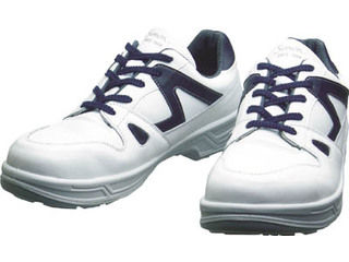 Simon/シモン 安全靴 短靴 8611白/ブルー 28.0cm 8611WB-28.0