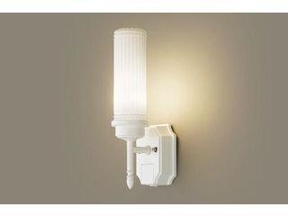 Panasonic/パナソニック LGWC85204WK LEDポーチライト ホワイト【電球色】【明るさセンサ付】【壁直付型】