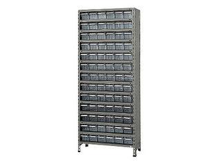 SAKAE/サカエ 【代引不可】物品棚LEK型樹脂ボックス LEK2124-78T