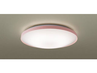 Panasonic/パナソニック LGBZ2544 LEDシーリングライト ピンク 【調光調色】【~10畳】