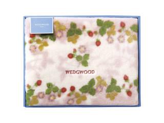 ウェッジウッド アクリルニューマイヤー毛布(毛羽部分) ピンク FQ88100051
