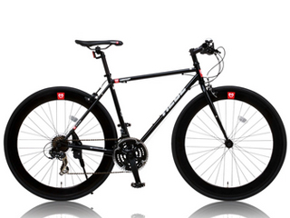 CANOVER/カノーバー CAC-024 HEBE(ヘーべー) クロスバイク 【700c】 (ブラック) メーカー直送品のため【単品購入のみ】【クレジット決済のみ】 【北海道・沖縄・離島不可】【日時指定不可】商品になります。