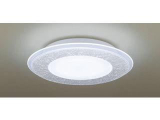 Panasonic/パナソニック LGBZ2196 LEDシーリングライト 1枚パネルタイプ 透明・模様入【調光調色】【~10畳】【天井直付型】