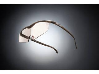 Hazuki Company/ハズキ 【Hazuki/ハズキルーペ】メガネ型拡大鏡 ラージ カラーレンズ 1.32倍 ブラウン 【ムラウチドットコムはハズキルーペ正規販売店です】