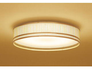 ODELIC/オーデリック OL291130BC 和LEDシーリングライト 竹ヒゴ【~8畳】【Bluetooth 調光・調色】※リモコン別売