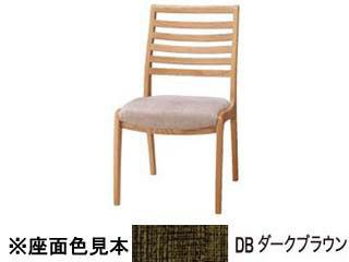 KOIZUMI/コイズミ 【ROUND OAK】 チェア 横ラダー KRC-1522 NSDB ダークブラウン 【受注生産品の為キャンセルはお受けできません】