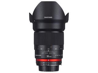 SAMYANG/サムヤン 35mm F1.4 AS UMC フジフイルムX用 ※受注生産のため、キャンセル不可 【受注後、納期約2~3ヶ月かかります】【お洒落なクリーニングクロスプレゼント!】