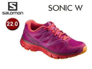 SALOMON/サロモン L39356200 SONIC W ランニングシューズ ウィメンズ 【22.0】