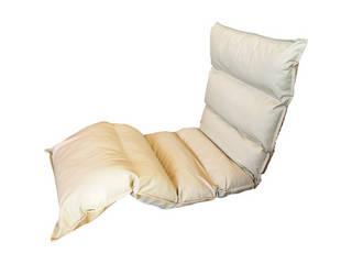 高反発フリーリクライニング座椅子 アイボリー  KPGCR-LE295IV