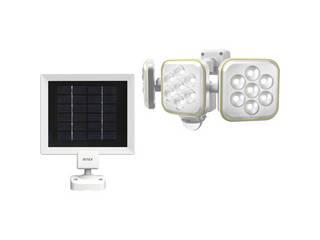 5W×3灯フリーアーム式LEDソーラーセンサーライト  S-90L