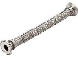 NFK/南国フレキ工業 サニタリー配管フェルールホース NK180SNT-1.0S-1000