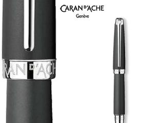 CARAN dACHE/カランダッシュ 【Leman/レマン】マット ブラック ボールペン 4789-496