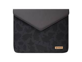 """MOZO MOOMIN Envelope Laptop Pouch 13"""" Black and Black Surface用ケース MZESM13BB"""