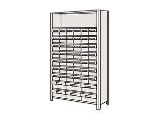 SAKAE/サカエ 【代引不可】物品棚LEK型樹脂ボックス LEK1121-48T