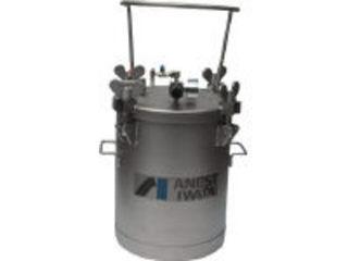 【組立・輸送等の都合で納期に1週間以上かかります】 アネスト岩田コーティングソリューションズ 【代引不可】ステンレス加圧タンク 攪拌器不含仕様 10L COT-10 ANEST IWATA