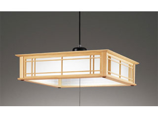 ODELIC/オーデリック SH4018LDR 和LEDペンダントライト 檜 【~12畳】リモコン付