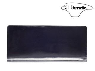 Il Bussetto/イルブセット Long Wallet/長財布 【ネイビー】 長財布 ウォレット 革小物 本革 タリアレザー ギフト プレゼント