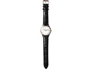 クリオブルー クリオブルー 牛革ベルト メンズ腕時計  W-CLM172006BK