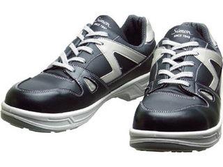 Simon/シモン 安全靴 短靴 8611ダークグレー 24.0cm 8611DG-24.0