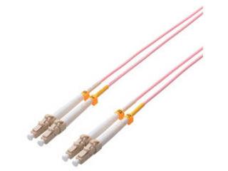 ELECOM エレコム 光ファイバーケーブル/マルチモード/10G/LC-LC/10m OC-LCLC5OM3/10