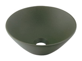 KAKUDAI/カクダイ 493-011-YG 丸型手洗器 (松葉)