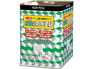 SUNDAY PAINT/サンデーペイント 一液水性簡易防水塗料 16kg グリーン 269921
