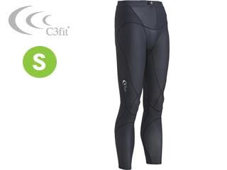 C3fit/シースリーフィット 3F12122-K エレメントロングタイツ(メンズ) 【Sサイズ】 (ブラック)