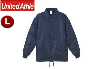 UnitedAthle/ユナイテッドアスレ コーチ ジャケット(ボア裏地) 【L】 (ブラック)