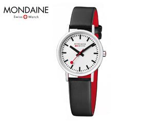 MONDAINE/モンディーン A658.30323.11SBB ニュークラシック 30mm ホワイト ブラックレザー レディース