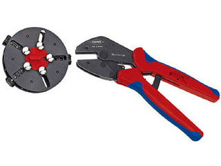 KNIPEX/クニペックス 9733-01 マルチクリンプ マガジン付圧着工具 9733-01