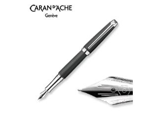 CARAN dACHE/カランダッシュ 【Leman/レマン】マット ブラック 万年筆 F 4799-486