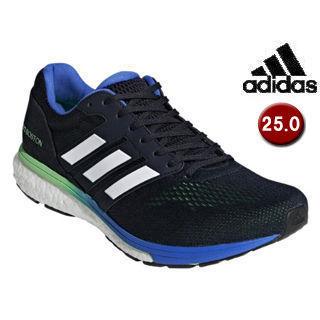 adidas/アディダス BB6536 adizero Boston 3 m 【25.0cm】 (レジェンドインクF17×ショックライムF18×ハイレゾブルーS18)