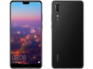 HUAWEI/ファーウェイ 5.8型SIMフリースマートフォン HUAWEI P20/Black/51092NAT ブラック