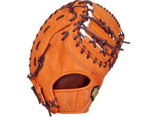 デサント(DESCENTE) 軟式ファーストミット 一塁手用/カラー:オレンジ